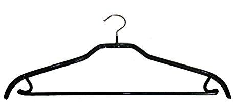 463x211 Mawa Silhouette Hanger Wpant Bar, 2 Pack, Silver