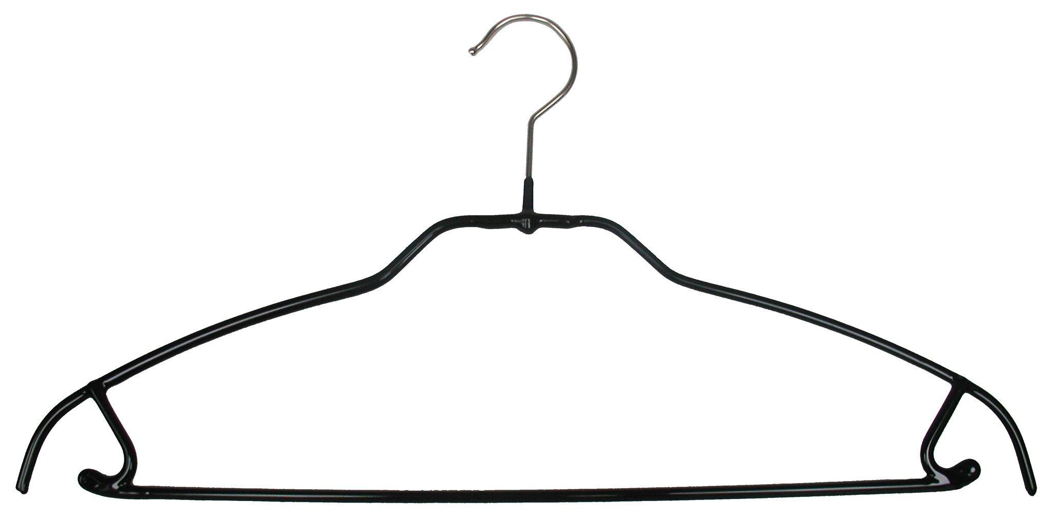 2048x1009 Silhouette Ultra Thin, 42 Ftu, Pant Barskirt Hook Hanger, Black