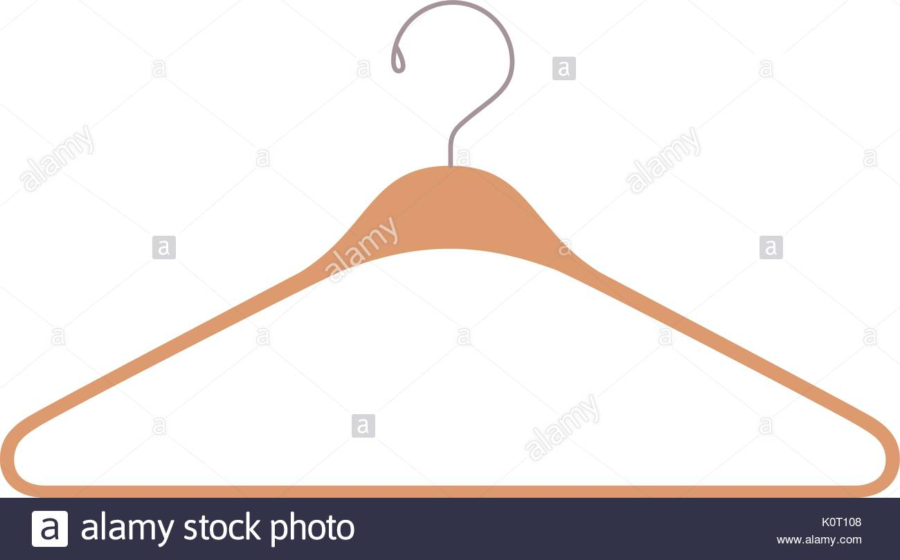 1300x810 Colorful Silhouette Of Clothes Hanger Icon Stock Vector Art