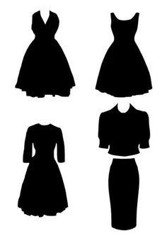 236x333 Free Clipart Of Dresses Black Dress Clipart By Karen Arnold
