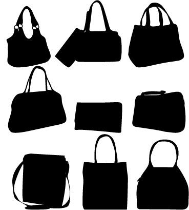 369x409 Clothes Silhouettes