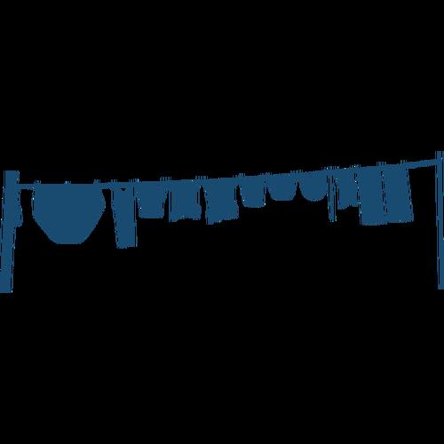 500x500 Clothes Line Silhouette Vector Image Public Domain Vectors