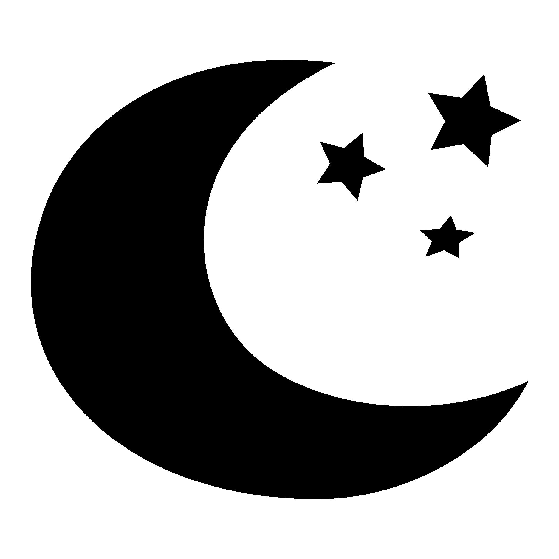 1875x1875 Moon Silhouette Clipart
