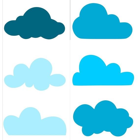 570x570 Bonics Clouds, Nubes, Nubols Silhouette