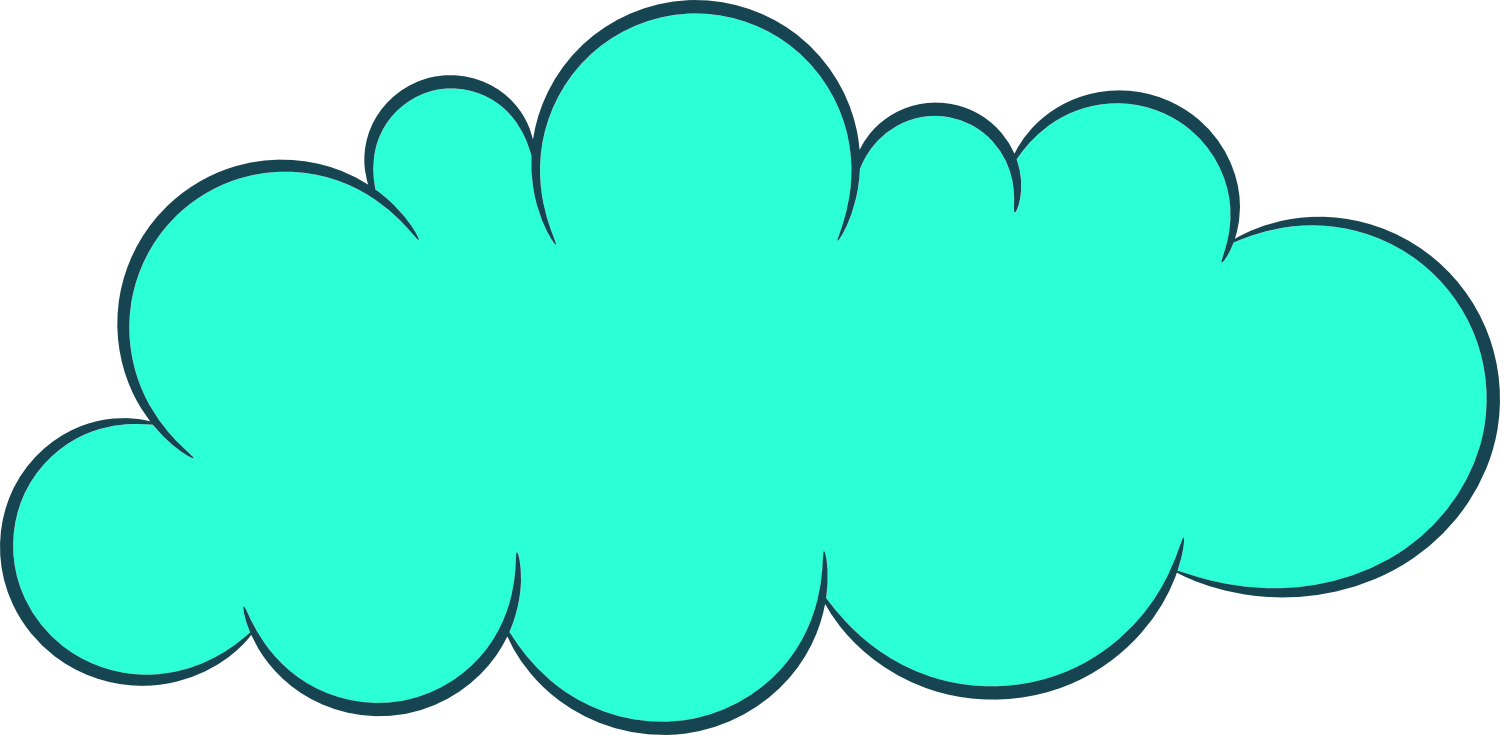 1500x735 5 Cartoon Clouds (Png Transparent)