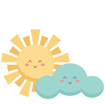432x432 Clouds Clipart Happy Sun