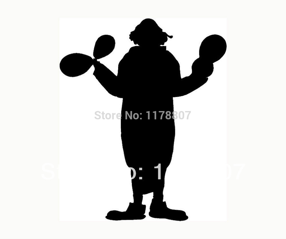 1000x833 Wholesale Clown Sticker Funny For Car Window Vinyl Decal Party