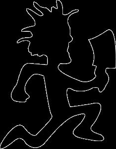 234x300 Insane Clown Posse Logo Vector (.eps) Free Download