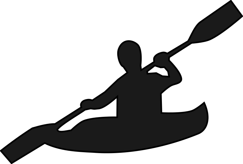 800x542 Indian Canoe Silhouette Clipart