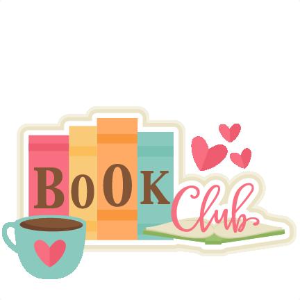 432x432 Book Club Title Svg Scrapbook Cut File Cute Clipart Files