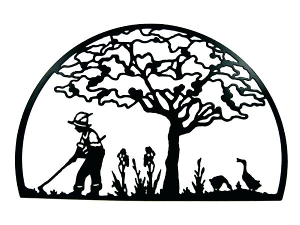 600x450 Gardening Silhouette Best Images About Silhouette On Clipart