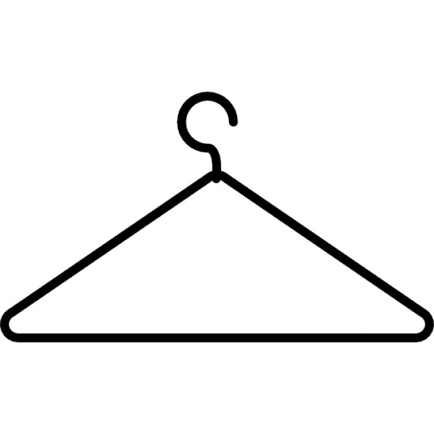 626x626 Coat Hanger Thin Outline Icons Free Download