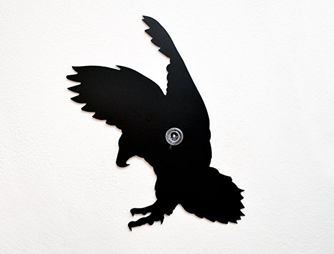 658x500 Eagle Attacking Silhouette Wall Hook Coat Hook