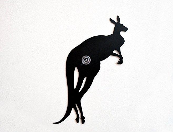 658x500 Kangaroo Jumping2 Silhouette Wall Hook Coat Hook
