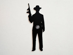 300x227 American Mafia Tommy's Gun Silhouette