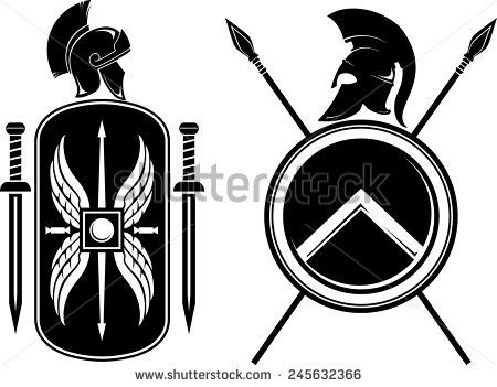450x351 Romans And Spartan Coat Of Arms Bala Spartan