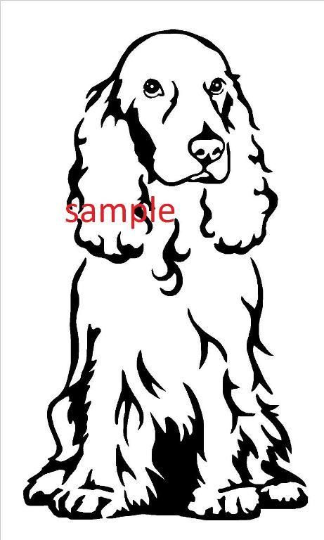 461x768 Cocker Spaniel Cross Stitch Chart Cross Stitch Charts, Chart