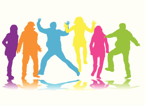 483x354 Party People Clipart