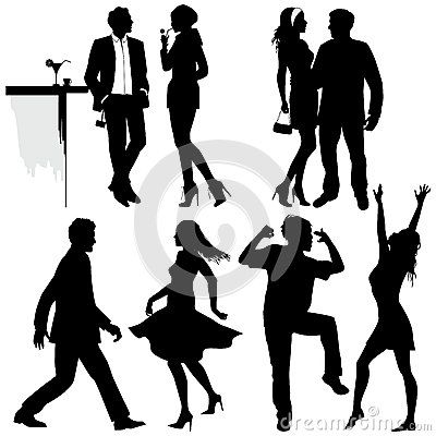 400x400 Several People Are Dancing On The Party By Eszawa, Via Dreamstime