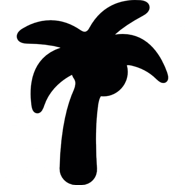 626x626 Coconut Tree Silhouette Icons Free Download