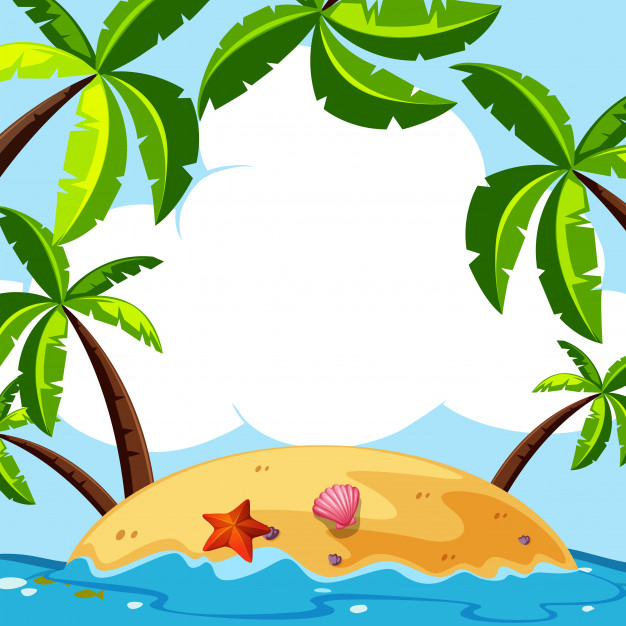 Coconut Tree Silhouette Vector