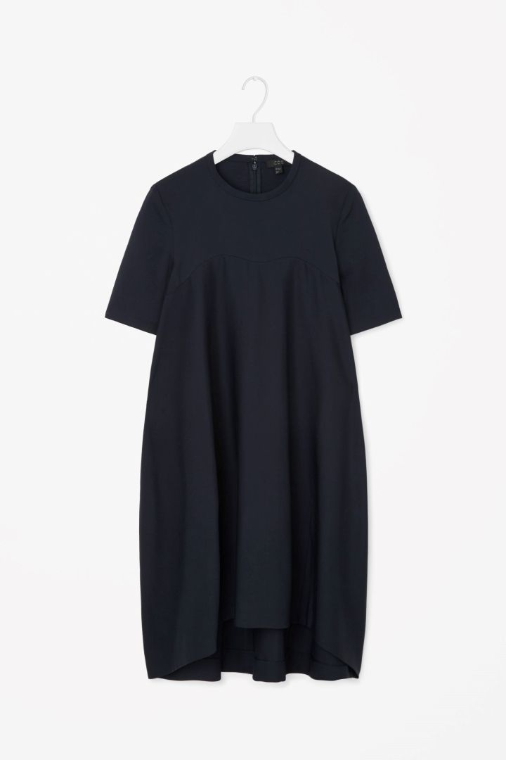 720x1080 Cos Voluminous Cocoon Dress Cocoon