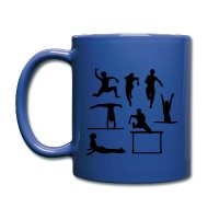 190x190 Sports Silhouette Full Color Mug Spreadshirt