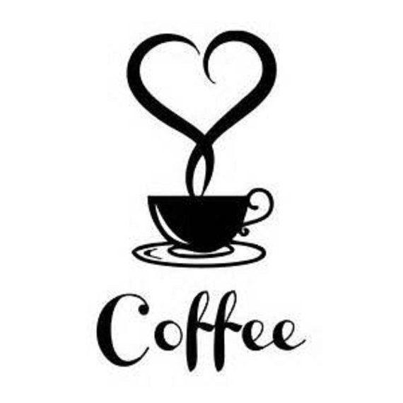 570x570 Coffee Shop Wall Decalcoffee Wall Decalcoffee Decalcoffee Cafe