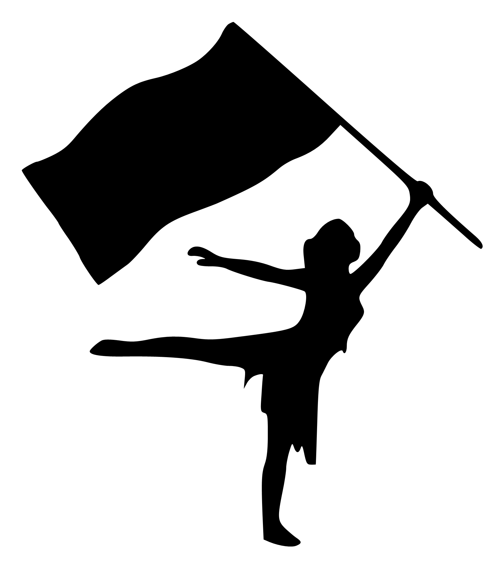 color guard silhouette at getdrawings com free for color guard clip art silhouette color guard clip art png