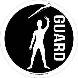 299x300 Color Guard Car Decal Male Ebay