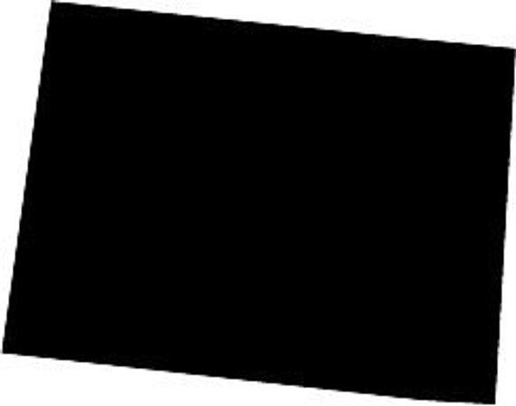 570x449 Colorado State Silhouette Die Cut Vinyl Decal Sticker. You