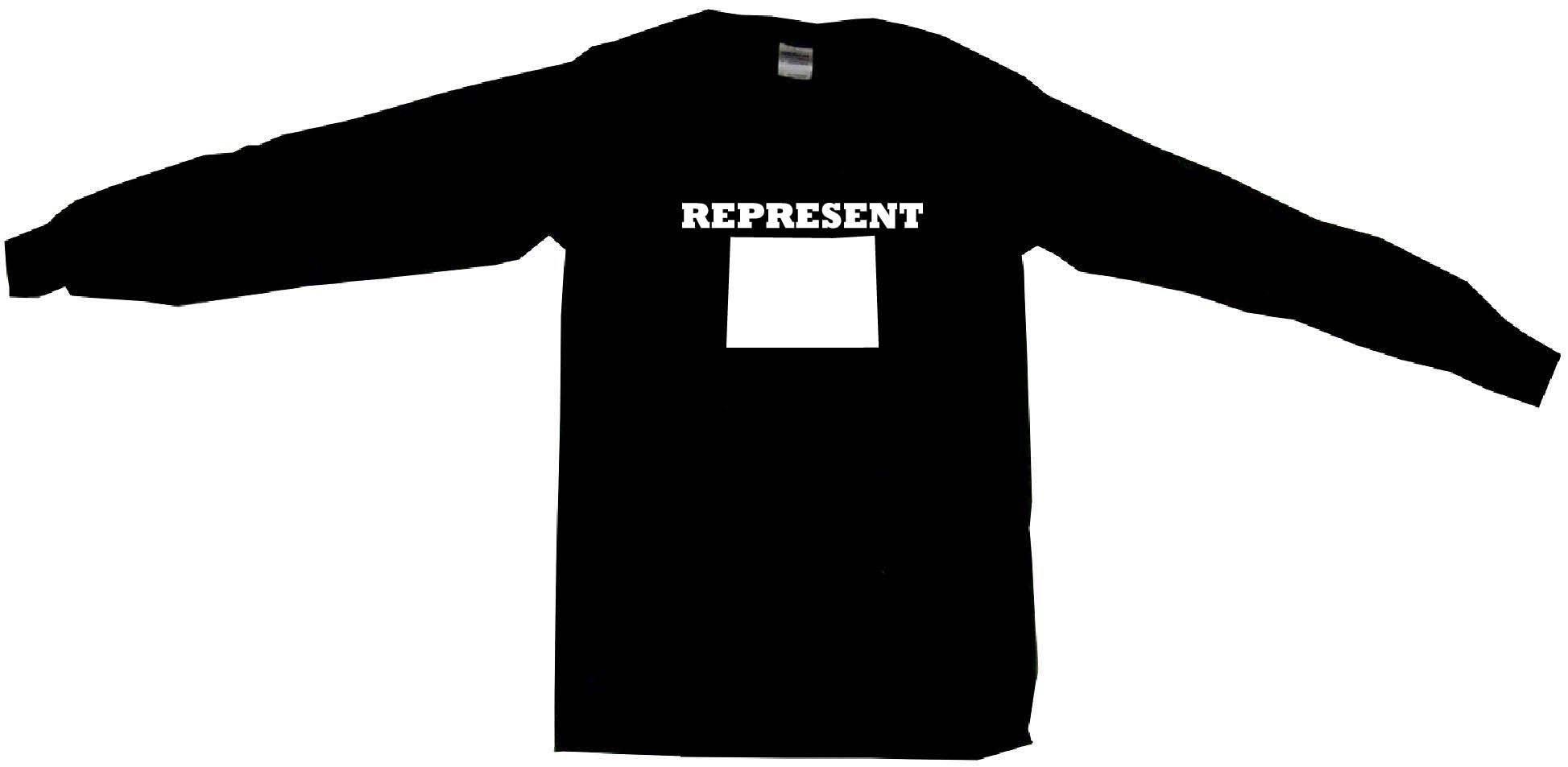 1947x953 Represent Colorado Silhouette Mens Tee Shirt Pick Size Color Small