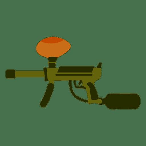 512x512 Gun Colored Silhouette 02