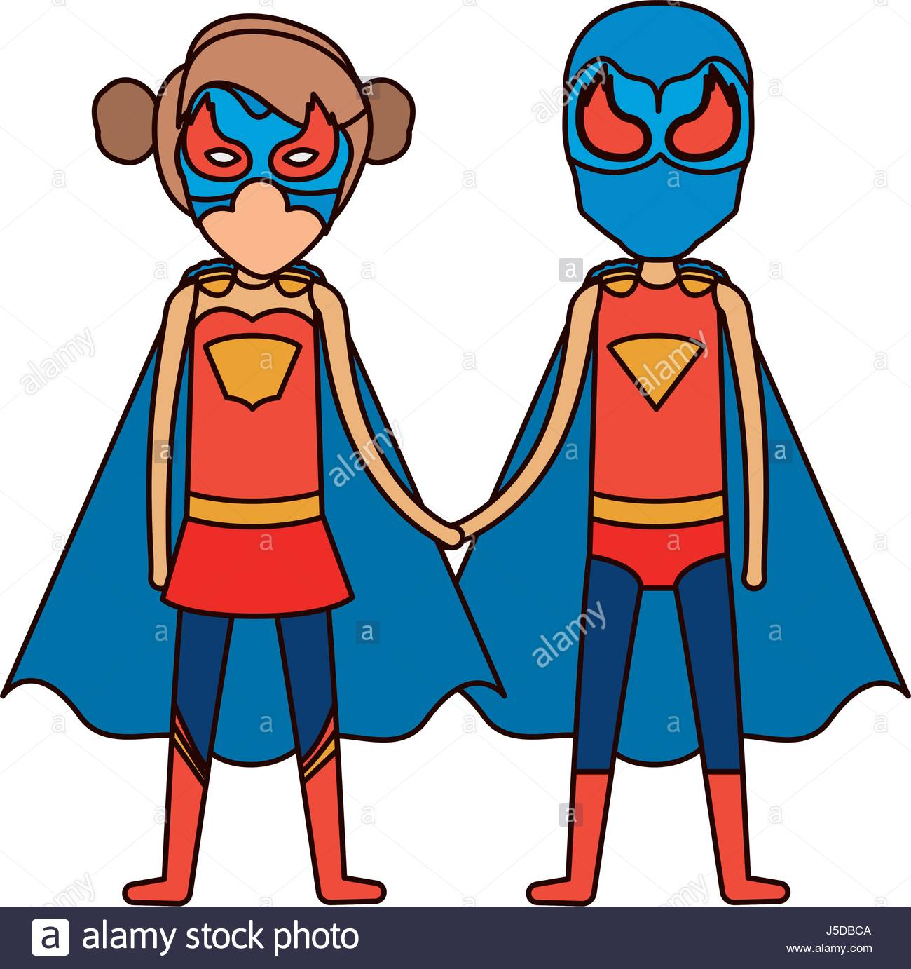 1300x1382 Colorful Silhouette With Faceless Duo Superheroes United