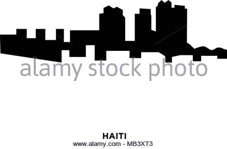 Columbus Skyline Silhouette