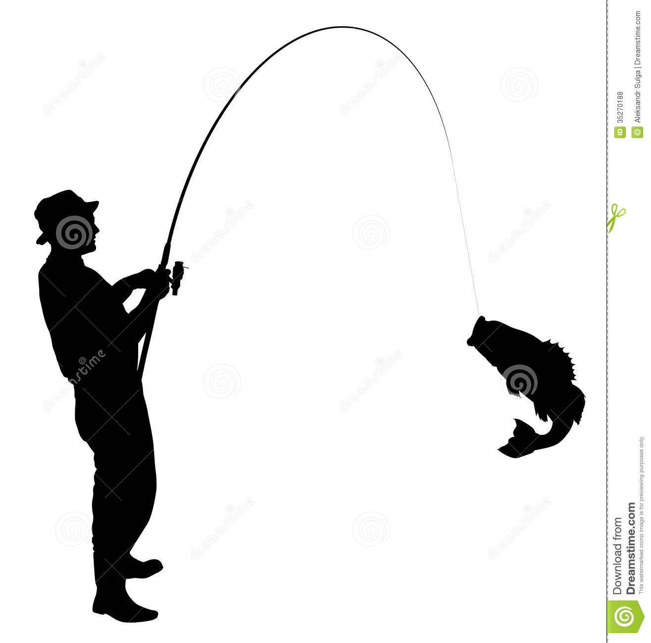 1315x1300 Top Bass Fish Outline Clip Art Fishing Silhouette Fisherman Caught
