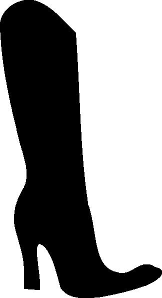 324x595 Boot Silhouette Clip Art