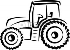 236x170 Tractor Silhouette I Can Make That! Tractor