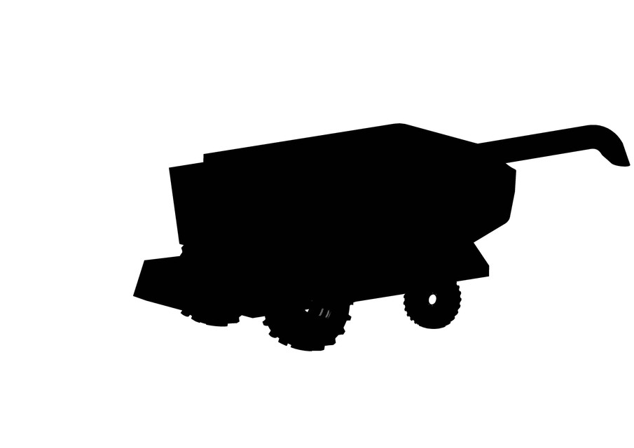 905x640 Combine Harvester 3d Cad Model Library Grabcad