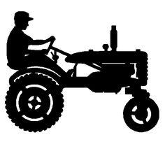 236x236 Tractor Silhouette Clip Art Antique Tractor Silhouette Allis