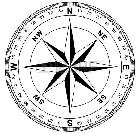 450x432 Compass Clipart Black And White 3182721