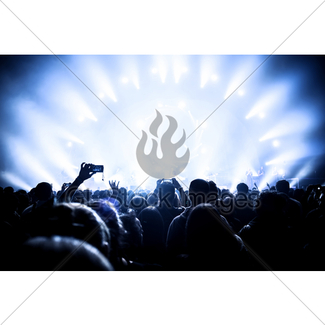 325x325 Concert Background In Red Toned Gl Stock Images