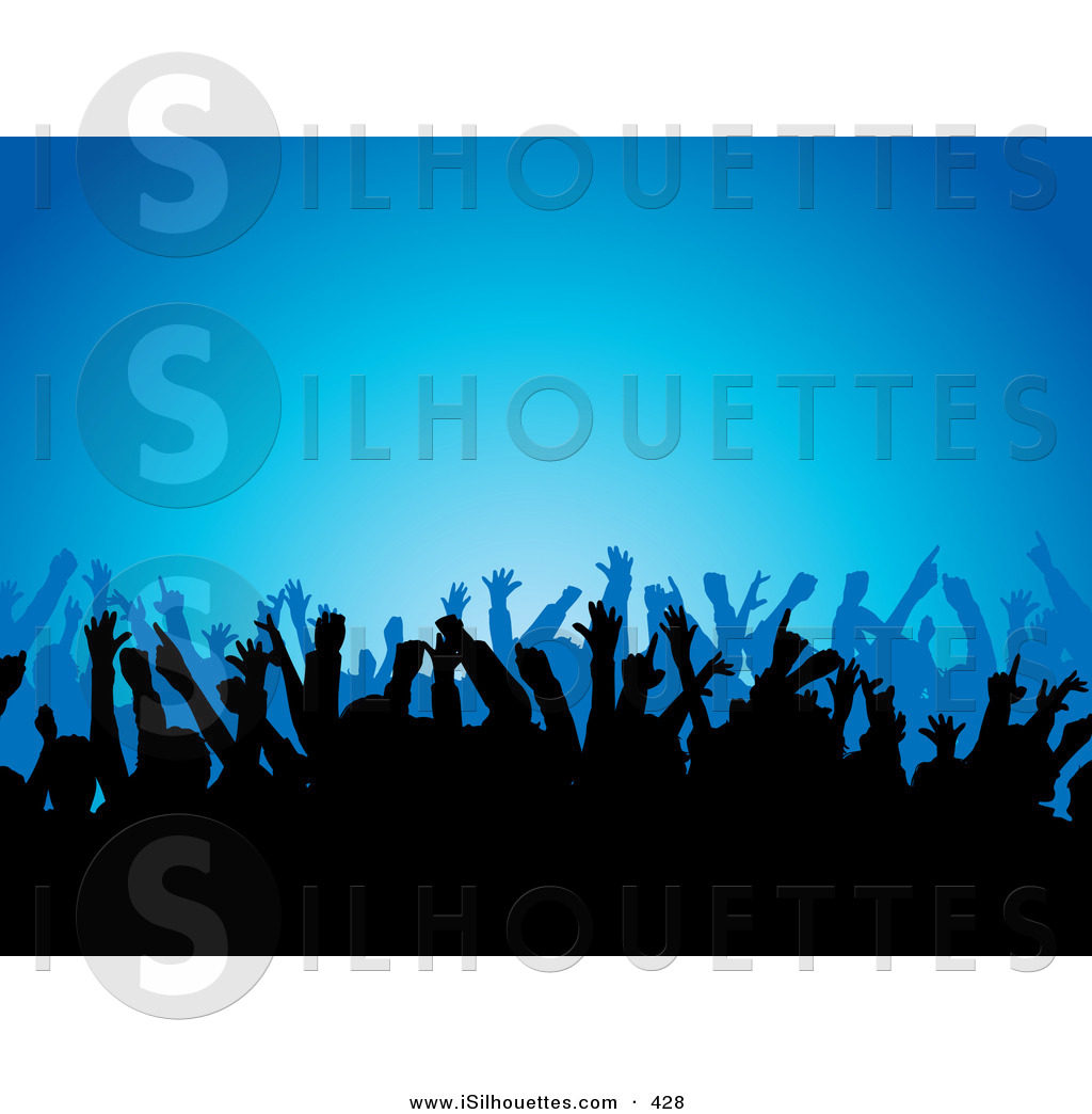 1024x1044 Royalty Free Stock Silhouette Designs Of Music Concerts