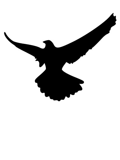 413x550 Falcon Silhouette