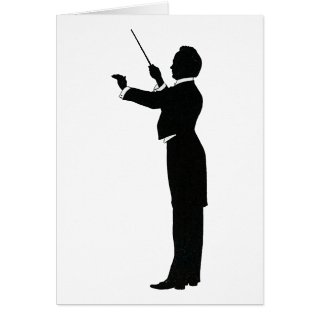 630x630 Conductor Silhouette Card