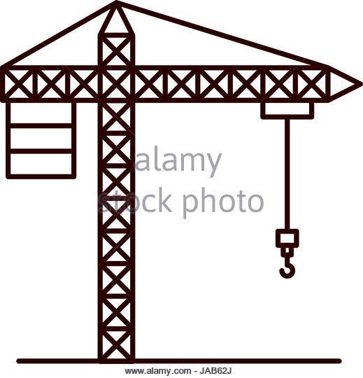 519x540 Crane Sketch