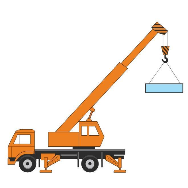660x660 Crane Vector Image