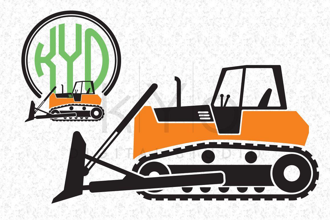 1158x772 Bulldozer Construction Svg Eps Png Vect Design Bundles