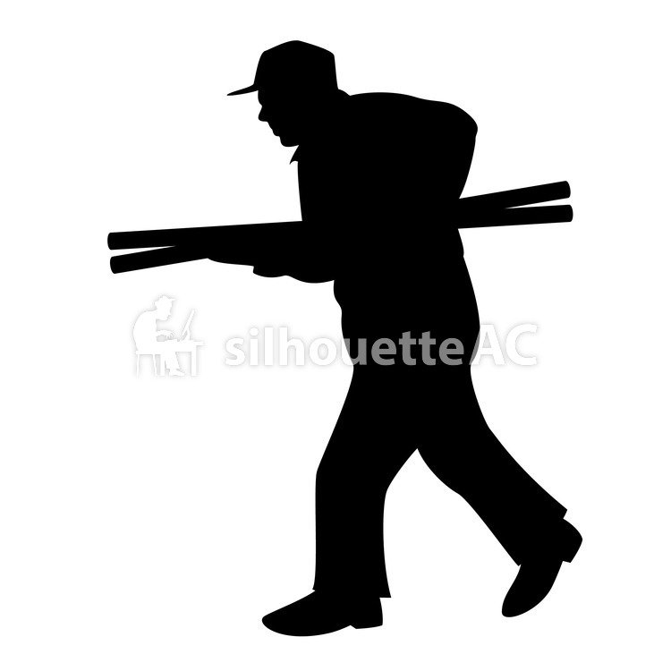 750x750 Free Silhouettes People, Character, Work