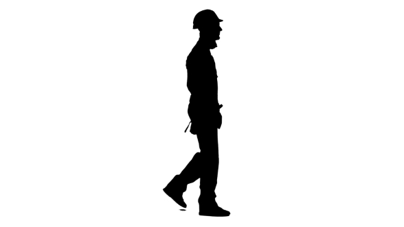 590x332 Silhouette Of Man Working On Construction Site Comes